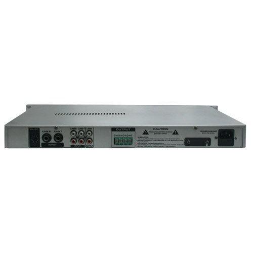 1 U Public Address Amplifier