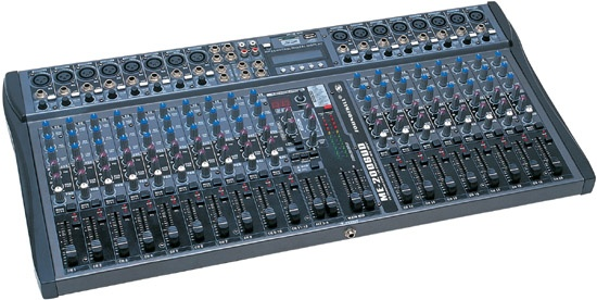 20 channel Audio Mixer with USB & SD card slot & LCD display