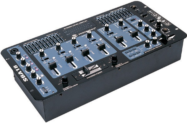 4 channel DJ Mixer with Echo and 6 effects