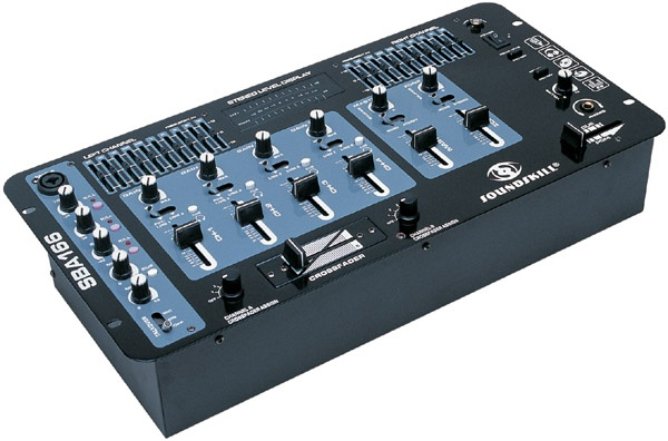 4 channels stereo DJ Mixer