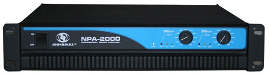 2U Professional Power Amplifier (600W - 2000W)