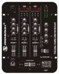3 channel DJ Mixer with 2 USB and 2 Led display