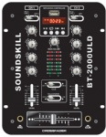 2 channel DJ Mixer with USB & Led display