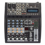 6 channel small Audio Mixer with USB