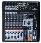 8 channel Audio Mixer with USB interface