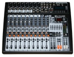 14 channels audio mixer with USB & SD card slot & LCD display