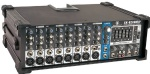 8 channels Metal cabinet powered mixer with iPod supported