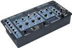 4 channel DJ Mixer with USB & LCD display and ECHO