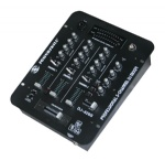 3 channel DJ Mixer with USB interface